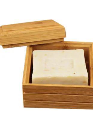 бамбуковая мыльница для ванной комнаты