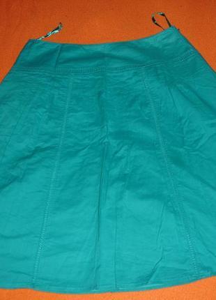 Фирменная летняя юбка на 48 размер