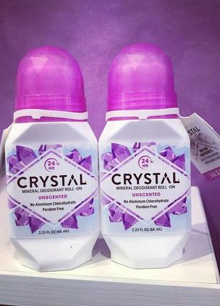 Дезодорант crystal роликовий