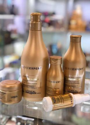 Шампунь l'oreal professionnel absolut repair gold quinoa + pro...