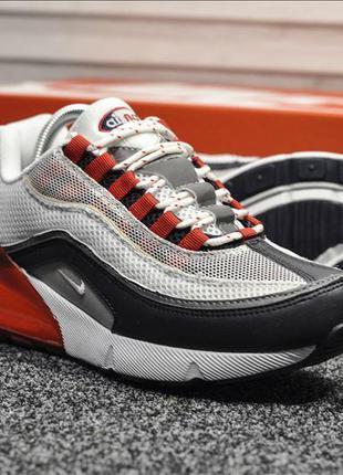 Nike air max hybrid 97 white red