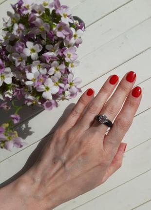Кольцо, колечко, кольца из керамики, размер 16