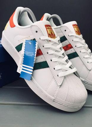 Кроссовки  adidas superstar x gucci