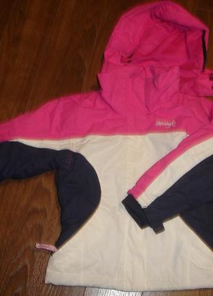 Фирменная термо куртка зима на 4-5 лет новая