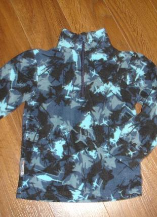 Фирменная флисовая кофта мальчику 3-4 лет идеал