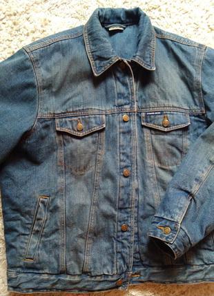 Утепленная джинсовая мужская куртка Camargue L