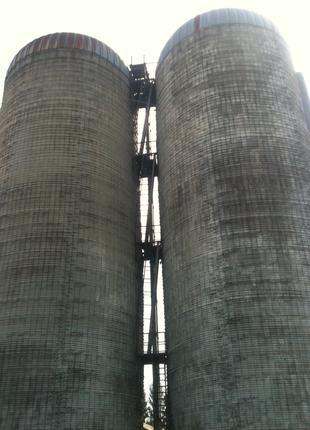 Сенажные башни