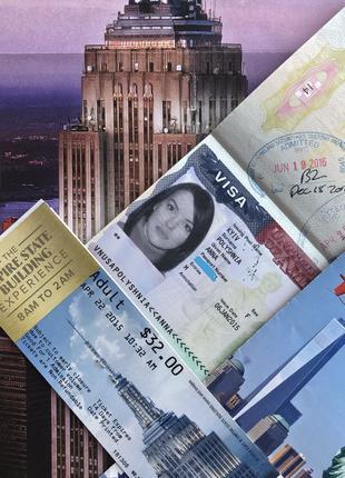 Визовая поддержка, помощь в оформлении визы США, Канада, Англи...