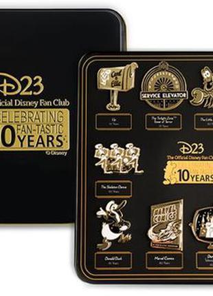 Оригинальный уникальный Коллекционный набор Disney D23 Gold Me...