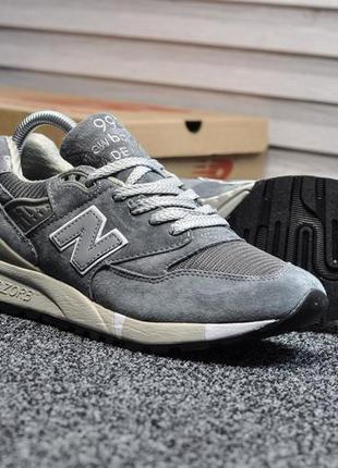 Женские кроссовки new balance 998 gray