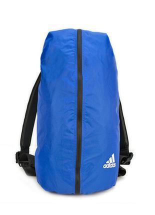 Городской спортивный рюкзак adidas оригинал синий