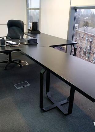 ОГОНЬ! Стол лофт дла руководителя. Мебель в офис.