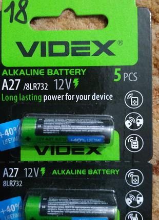 Батарейка А27