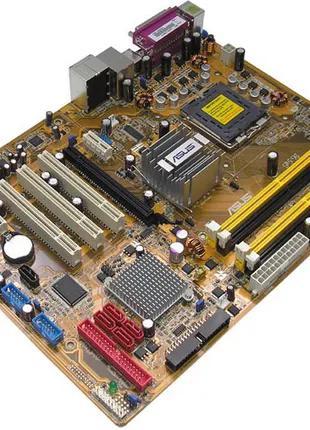 Продам материнскую плату ASUS P5B + проц Intel Core 2 Duo E6650