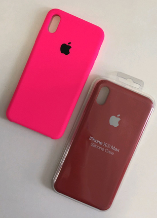 Silicon case for iPhone XS Max