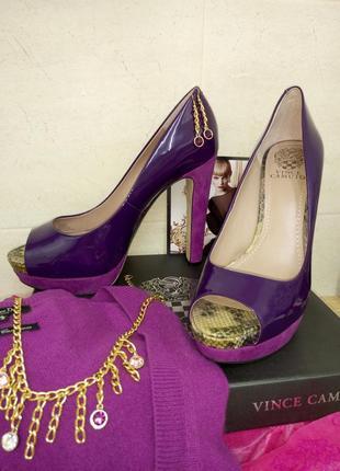 Бесподобные туфли vince camuto размер 39,5 (американский 9,5) ...