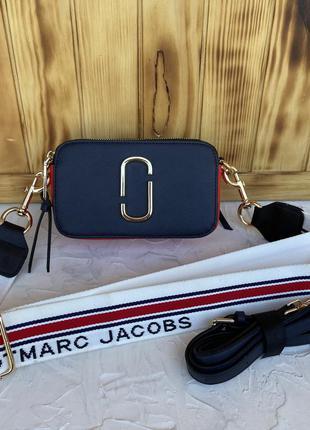 Женская сумка через плечо жіноча маленькая Marc Jacobs