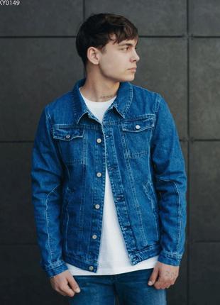 Джинсовая куртка staff blue c5