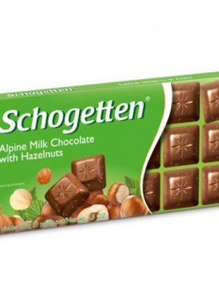 Немецкий шоколад Schogetten Шоготен