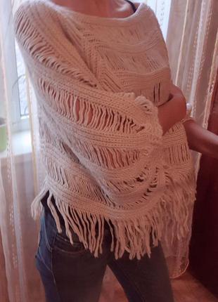 Классный, модный, мешковатый свитер avant-premiere
