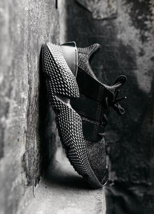 Мужские кроссовки адидас черные