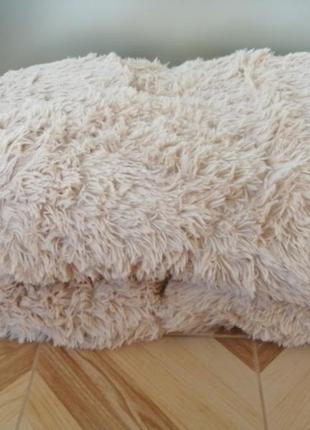 Одеяло-плед *травка* 200*220. плотный плед покрывало мягкое.  ест
