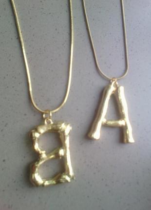 Кулон с подвеской в виде английского алфавита, буква M, маст х...