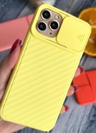 Чехол с защитой камеры для apple iphone