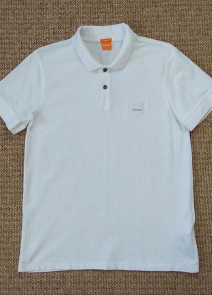 Hugo boss поло футболка slim fit оригинал (xl)
