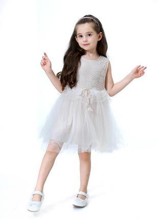 12-35 нарядное детское платье на выпускной праздник утренник ф...