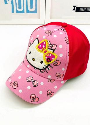 13-163 кепка hello kitty хелло китти детская бейсболка панамка...