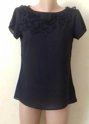 Красивая шифоновая блуза h&m