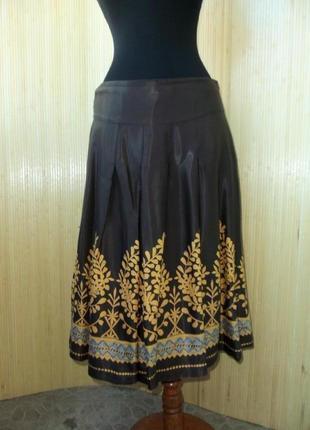 Женственная юбка колокол ниже колена H&M