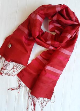 Mai savanh lao брендовый шелковый шарф#палантин ручной работы,...