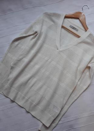 Allsaints брендовый джемпер#пуловер#свитер#кофта, лен#хлопок.