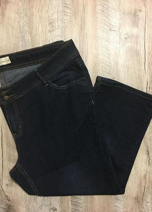 Стрейчевые джинсовые бриджи/длинные шорты большого размера