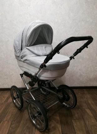 Детская универсальная коляска Adamex Katrina 2 в 1 (Адамэкс Катри