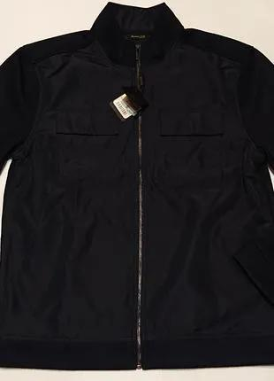Мужская куртка мужской жакет massimo dutti l-xl 50-52 куртка-жаке