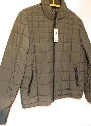 Мужская демисезонная куртка 2xl xxl наш 52-54р утепленная деми