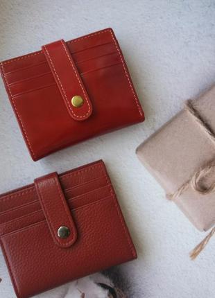 Женский кожаный кошелек. жіночий шкіряний гаманець небольшой