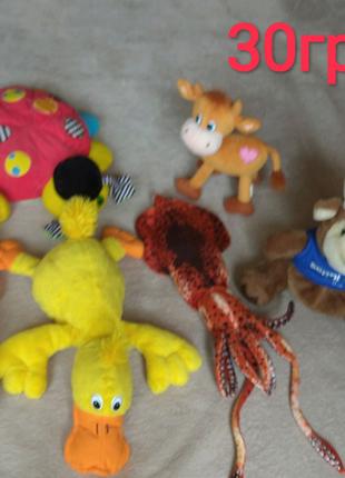 Детские мягкие игрушки, мягкая книжка