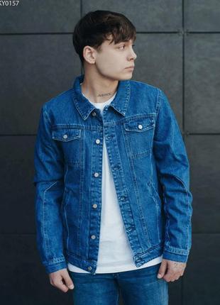Джинсовая куртка staff blue c3