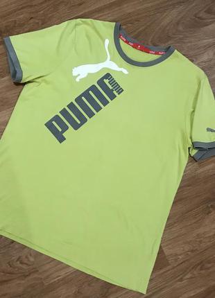Клёвая футболка от puma big logo nike adidas under armour reebok