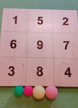 Наклонная доска с кинезиологическими мячами Билгау