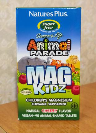 Animal Parade, MagKidz, Магний для детей. 90 штук.