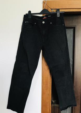 Pierre cardin paris мужские брюки  джинсы чёрные