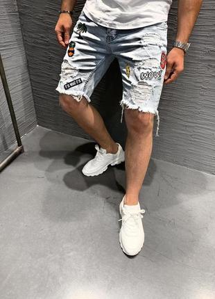 Мужские джинсовые шорты djp5