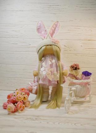 Кукла заинька ручной работы