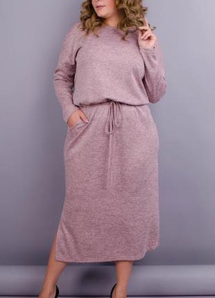 Оригинальное платье для пышных дам, плаття жіноче батал, трико...