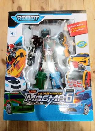 Робот - трансформер Тобот Магма Tobot MAGMA 6в1 535 24см